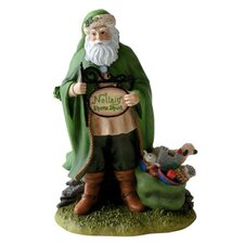 Irish Christmas Santa Mini Figurine