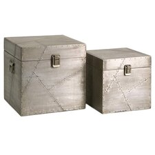 Jensen 2 Piece Clad Storage Box Set