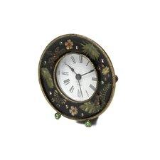 Chic Jeweled Desk Clock