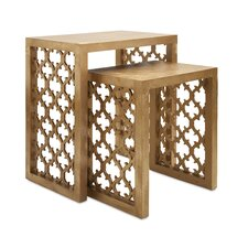 Canaberra 2 Piece Nesting Table Set