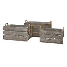 Darn's Bluff 3 Piece Crate Set