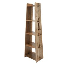 "69"" Accent Shelves Bookcase"