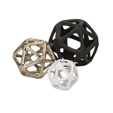 3 Piece Nikki Chu Essex Decorative Ball