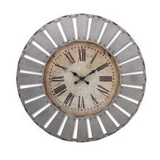 "Oversized 41"" Dees Iron Clock"