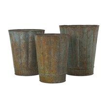 Arden 3 Piece Round Pot Planter Set