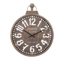 "Oversized 23.5"" Uptown Wall Clock"