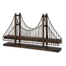 Wrought Iron Suspension Bridge Candelabra
