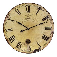 "Oversized 23"" Antique Wall Clock"