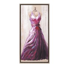 The Dress Oil Graphic Art on Canvas