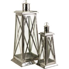Regatta Steel and Glass Lantern