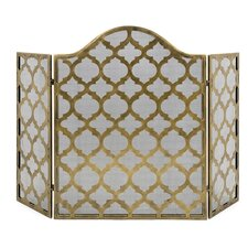 3 Panel Metal Thomas Fire Screen