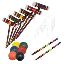 6 Player Combo Croquet Game Set