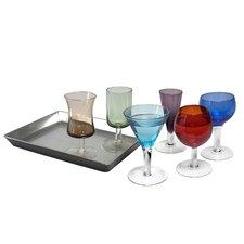 7-tlg. Schnapsglas-Set