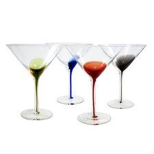4-tlg. Martiniglas