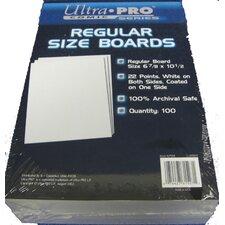 "6.8"" x 10.5"" Regular Comic Boards"