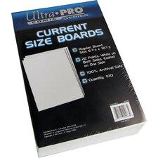 Ultra Pro Silver Size Boards 7 X 10 ½