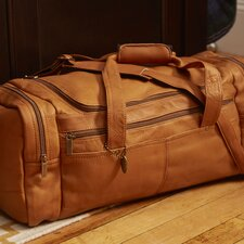 "19"" Leather Classic Travel Duffel"