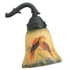 Glass Bell Ceiling Fan Fitter Shade