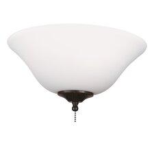 "13"" Glass Ceiling Fan Bowl Shade"