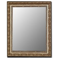 Antique Silver Framed Wall Mirror