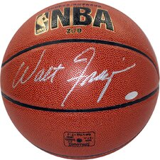 Walt Frazier Signed I/O Basketball