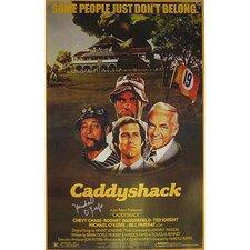 Caddyshack Michael O'Keefe Autographed Movie Vintage Advertisement
