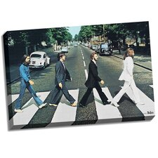 The Beatles 'Abbey Road' Photographic Print on Wrapped Canvas