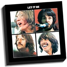 The Beatles 'Let It Be' Memorabilia on Wrapped Canvas