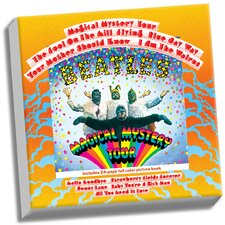 The Beatles 'Magical Mystery Tour' Graphic Art on Wrapped  Canvas