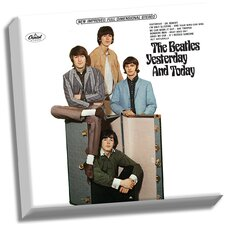 The Beatles 'Yesterday and Today' Graphic Art on Wrapped Canvas