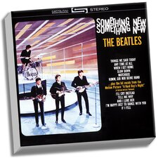 The Beatles 'Something New' Graphic Art on Wrapped Canvas