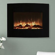 Curved Electric Fireplace