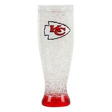 NFL 16 Oz. Crystal Freezer Pilsner Glass
