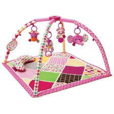 Sweet Safari Twist and Fold Activity Gym and Play Mat