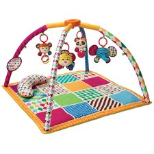 Safari Fun Twist and Fold Activity Gym and Play Mat