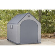 StorageHouse 6 Ft. W x 7 Ft. D Plastic Portable Shed