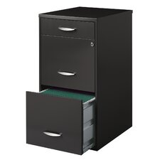 Office Designs 3-Drawer Vertical File