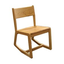"18"" Wooden Rocking Classroom Chair"