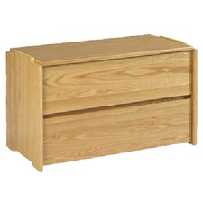 2 Drawer Stackable Chest