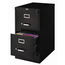 2 Drawer Letter-Size  File Cabinet