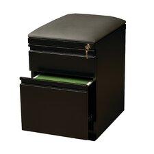 2-Drawer Mobile Pedestal Seat
