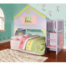 Dollhouse Twin Loft Bed