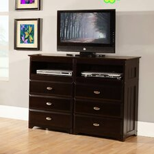 Kaitlyn 6 Drawer Media Chest