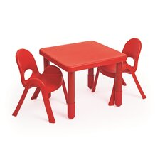 MyValue Set 2 Kids Square Writing Table Set
