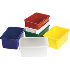 "Value Line 11"" Cubbie Trays in Opaque (Set of 2)"