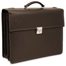 Prestige Triple Leather Laptop Briefcase