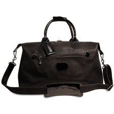 "Nevada 19"" Patent Leather Weekender Duffel"