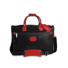 """Nevada 18"""" Patent Leather Weekender Duffel with 3 Way Zip"""