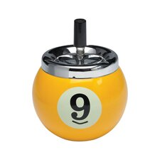 Novelty Items Nine-Ball Push Button Ash Tray