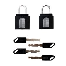 2-Pack Keyed Lock (Set of 3)